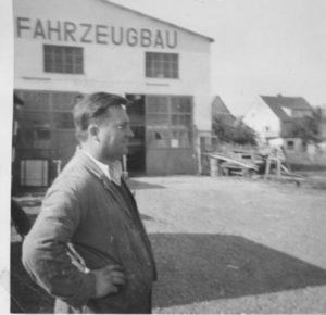 """Vom Stellmachermeister zu """"Dietz Fahrzeugbau"""""""